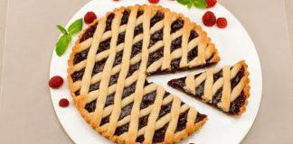 Linecký tart s džemom | Recept na jednoduchý a chutný linecký koláč