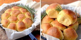 Rozmarínové buchty zo sladkých zemiakov | Recept