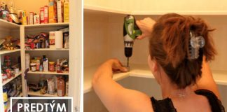Reorganizácia špajze | Kreatívny nápad, ktorý vyrieši neporiadok