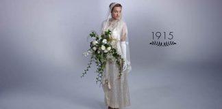 Ako sa menili svadobné šaty v priebehu 100 rokov | História šiat