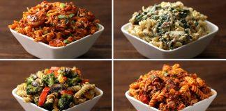 Cestoviny rotini štyrikrát inak | 4 recepty na fusilli so zeleninou, syrom či mäsom