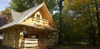 Chata Klimkówka | Zrub 27 m² postavený v tradičnom štýle v Zakopanom