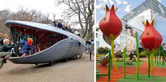 Detské ihriská | Dánska firma vyrába tie najkreatívnejšie ihriská pre deti