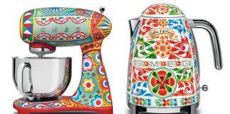 Dolce & Gabbana navrhli nádherné kuchynské spotrebiče SMEG