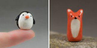 Miniatúrne keramické zvieratká v minimalistickom štýle | Melissa McCarthy