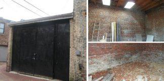 Renovácia starého skladu na prakticky riešený jednoizbový byt
