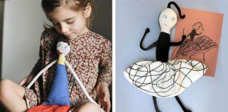 Hračky podľa detských kresieb | Wilma Traldi mení kresby deti na plyšové hračky