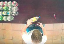 Taburetka z PET fliaš   Návody ako vyrobiť taburetku z plastových fliaš