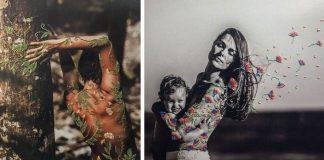 Fotografie doplnené výšivkou ukazujú krehkosť a krásu ľudí | Aline Brant