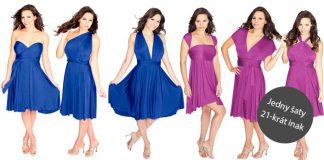 Šaty Sakura Henkaa | Jedny šaty môžete obliecť na 21 spôsobov