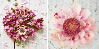 Raw vegánske torty zdobí stovkami kvetov | Zdravé a chutné tortičky