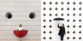 Kreatívna dvojica hravými fotkami dokazuje, že architektúra nie je nuda!