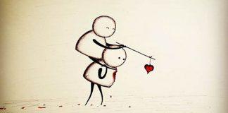 Silné ilustrácie vás donútia zamyslieť sa nad odvrátenou stranou lásky