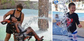Otvorili prvý vodný park pre deti so zdravotným postihnutím