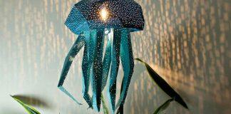 Tienidlá, ktoré spájajú umenie origami, morské živočíchy a tieňohru