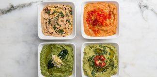 Cícerová nátierka štyrikrát inak! | 4 recepty na domáci hummus