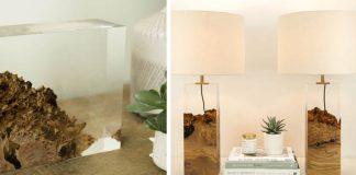 Lampy z dreva a akrylátu   Neopakovateľné originály z dielne Iluka London