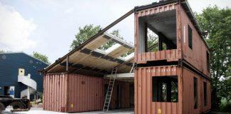 WFH dom z prepravných kontajnerov | Alternatívne bývanie od Arcgency