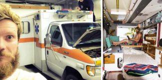 Sanitka prerobená na bývanie | Mobilný minidomček zo starej sanitky