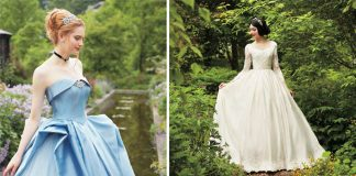 Svadobné šaty inšpirované rozprávkovými princeznami Disney | Kuraudia