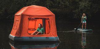 SmithFly | Plávajúci stan, ktorý posúva kempovanie na novú úroveň