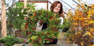 Vianočný veniec z prírodných materiálov | DIY návod ako postupovať