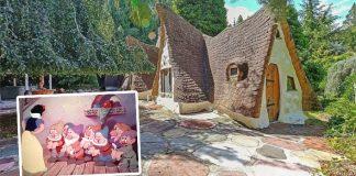 Domček ako vystrihnutý z rozprávky o Snehulienke a siedmich trpaslíkoch