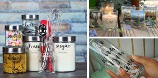 Etikety na dózy, fľaše, či poháre | Kreatívny DIY nápad s návodom