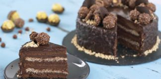 Ferrero Rocher torta   Recept na famózny dezert, ktorému neodoláte!