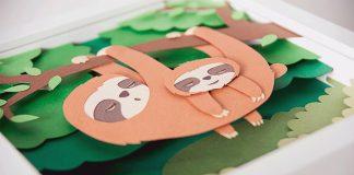 Papierové ilustrácie, ktoré ozvláštnia každú detskú izbu | Václav Bicha