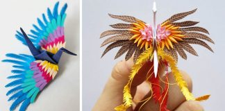 Cristian Marianciuc poskladal a ozdobil tisíc origami žeriavov za 1000 dní