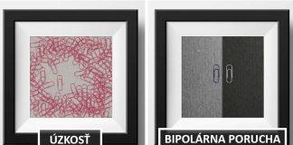 Umelec Eisen Bernardo ilustruje psychické ochorenia spinkami na papier