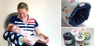 Dojčiace vankúše, ktoré ocenia mnohí rodičia | Handmade tvorba Littleman