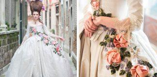Lauren Rossi šije šaty aké sa nosili v 18. a 19. storočí