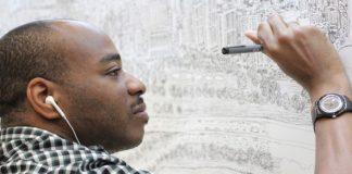 Stephen Wiltshire spamäti detailne kreslí panorámy miest zo spomienok