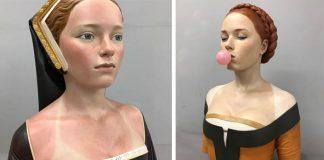 Gerard Mas vytvára renesančné sochy v modernom šate dnešnej doby