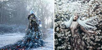 Fotografka Bella Kotak zachytáva ženy ako magické bytosti z rozprávok