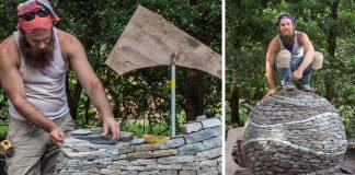Sochy z kusov kameňa držia pokope bez cementu či lepidla | Devin Devine