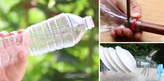 Kreatívne nápady ako využiť plastové fľaše v domácnosti a záhrade