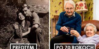 Týchto 15 fotiek párov vás presvedčí, že pravá láska nikdy nestarne!