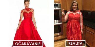 Kupovať plesové šaty cez internet nemusí dopadnúť vždy podľa očakávaní