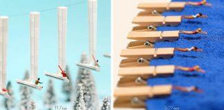 Tatsuya Tanaka tvorí nápadité scény z miniatúr a bežných predmetov