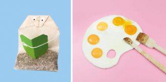 Helga Stentzel hľadá v jedle podobnosť so zvieratami, ľuďmi alebo iba vtip
