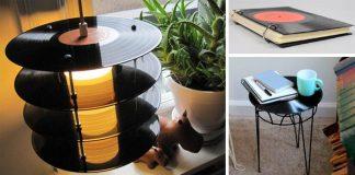 Staré platne | Kreatívne nápady ako využiť staré LP gramofónové platne