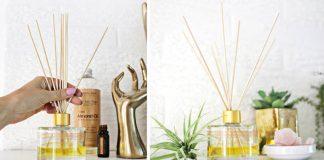 Aróma difuzér | DIY návod ako si doma vyrobiť vonný difuzér