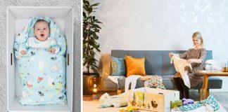 Fínske bábätká spia v krabiciach | Štartovací balíček dostane každá matka