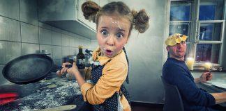 Kreatívny otec a jeho tri dcéry tvoria foto manipulácie | John Wilhelm