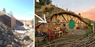Hobití domček si postavila uprostred ničoho | Splnený sen Kristie Wolfe