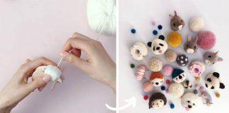 Brmbolcové zvieratká | DIY nápady a návody na zvieratká z brmbolcov