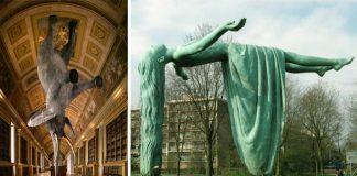 Sochy popierajúce zákon gravitácie | 20 úžasných sochárskych diel #2